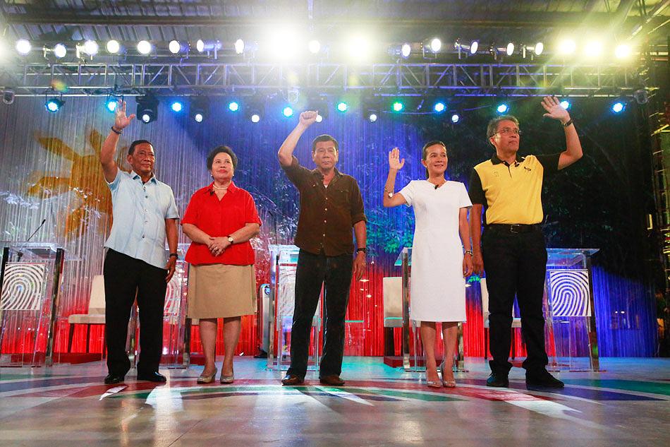 #PILIPinasDebates2016