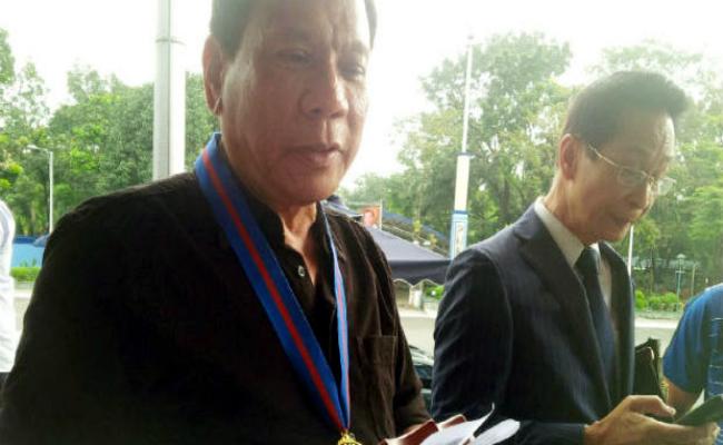 Davao City Mayor Rodrigo Duterte's lawyer