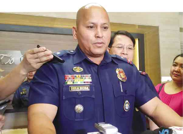 Philippine National Police Chief Director Gen. Ronald 'Bato' Dela Rosa tells anti-riot cops: Show love to rallyists