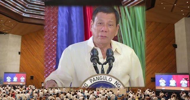 Transcript of President Duterte's 1st SONA