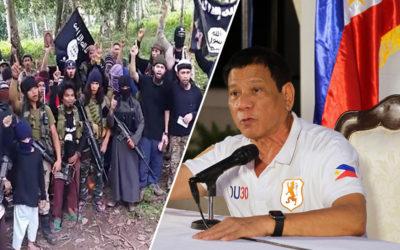 Duterte: Abu Sayaff lost my respect