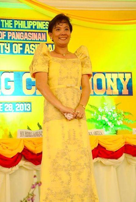 Asingan Pangasinan Mayor Heidee Ganigan-Chua