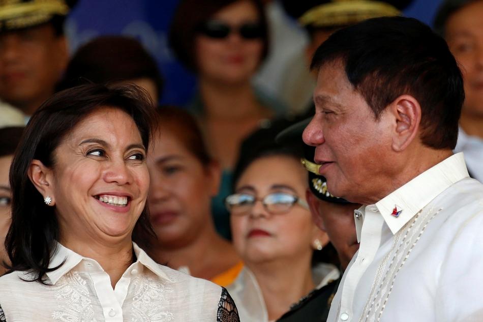 Duterte inamin na nagandahan kay Leni