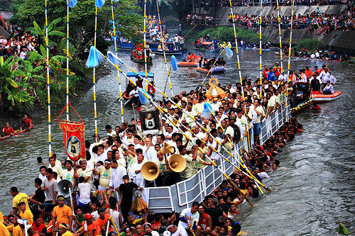 Our Lady of Peñafrancia fluvial procession