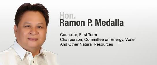 Quezon City District 2 Councilor Ramon Medalla