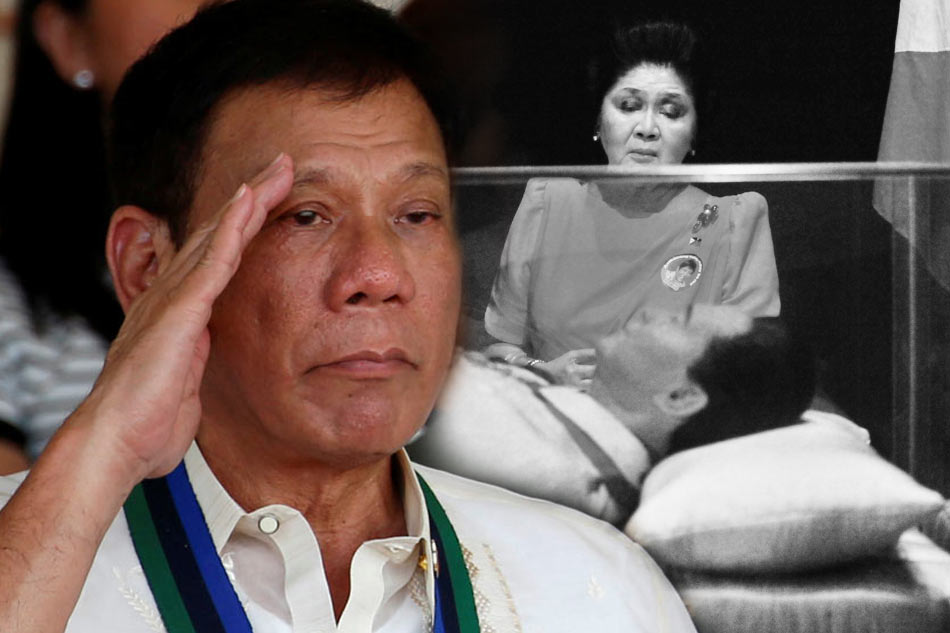 Duterte: Issue over Marcos' burial a 'fight between two families'