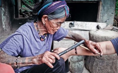 Watch the Oldest Hand-Tap Tattoo Filipino Artist at Work