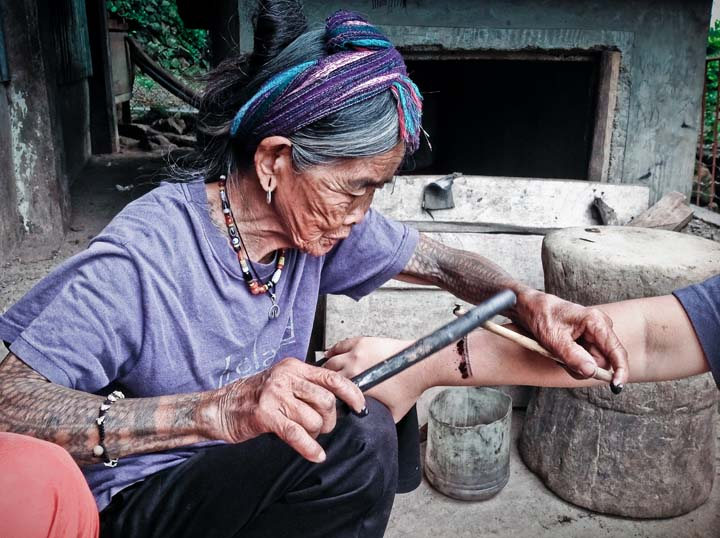 philippines report watch the oldest hand tap tattoo