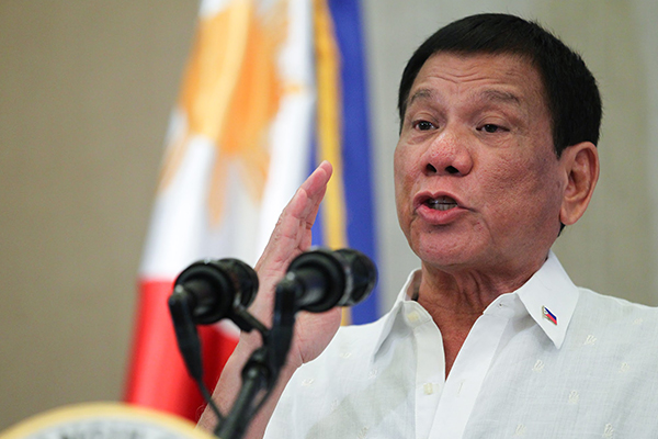 Duterte: 3 out of 5 Americans are idiots