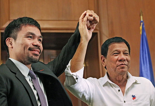 Duterte predicts Pacquiao