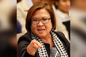 'People of the Philippines, your President is a murderer' – Sen. Leila de Lima