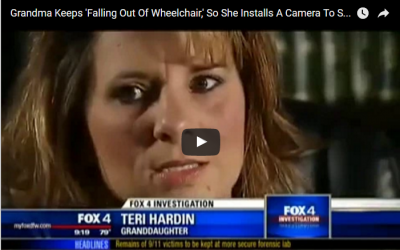 Her Grandma Keeps 'Falling Out Of Wheelchair,' So She Installs A Camera To See If Nurses Are Lying