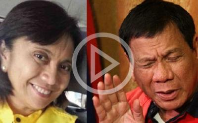 Robredo denies joining any rally against Duterte