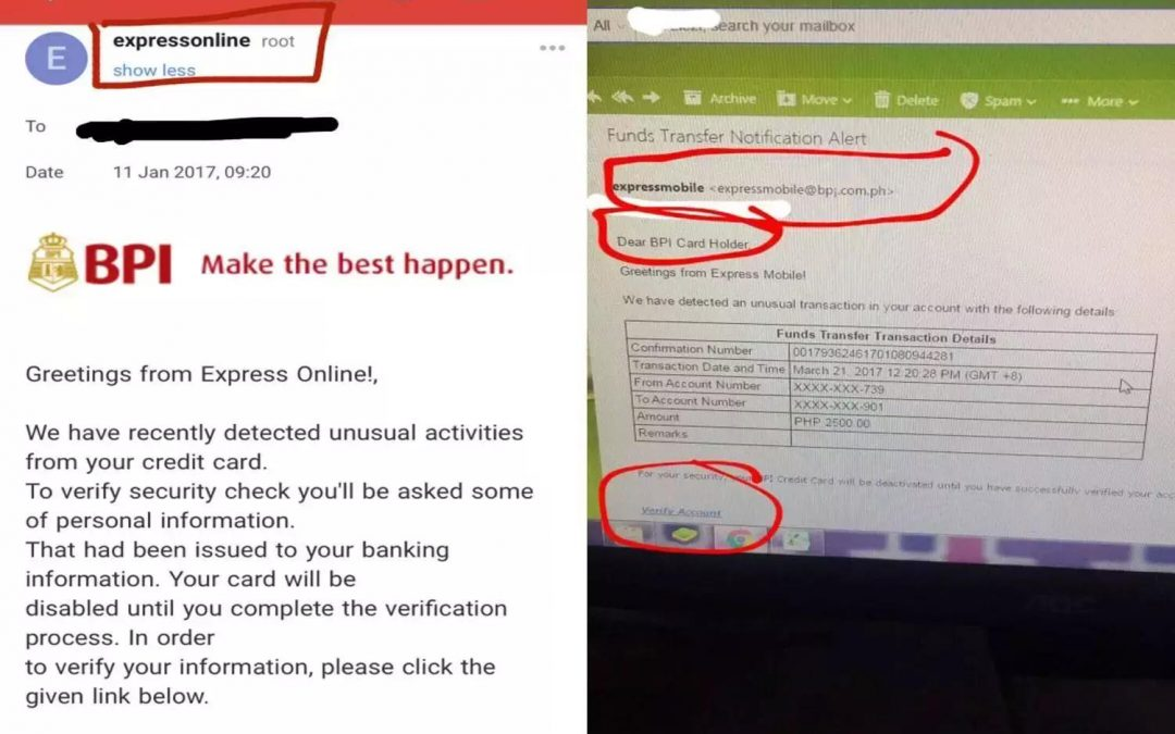 Beware of a new scam targeting BPI card holders