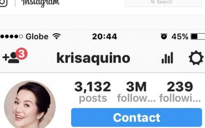 Kris Aquino To Treat 7 Lucky Fans For Merienda For Hitting 3Million On Instagram