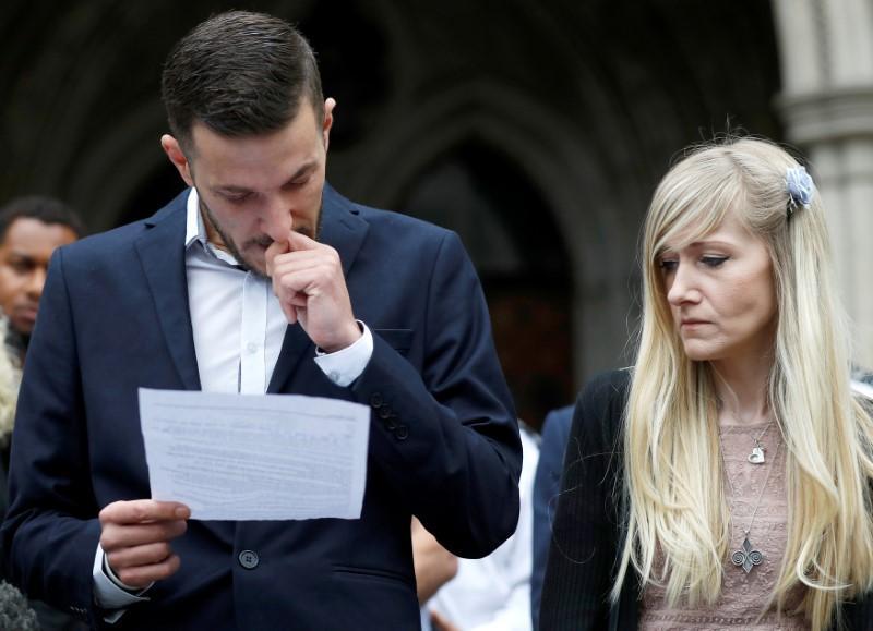 Charlie Gard, British baby at heart of dispute, has died