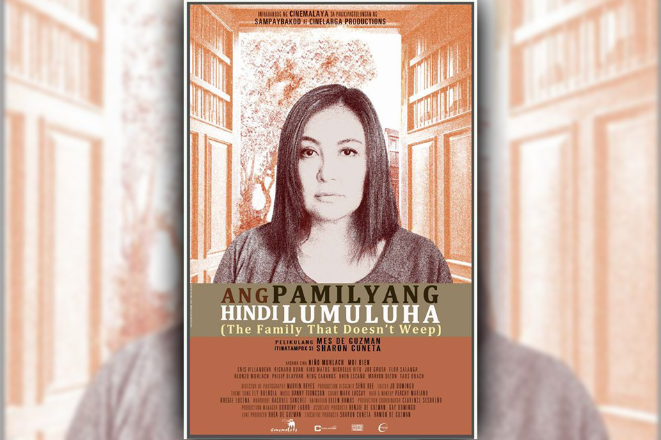Cinemalaya review: Megastar shows mettle in 'Ang Pamilyang Hindi Lumuluha'