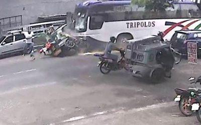 7 sugatan sa salpukan ng bus, tricycle sa Camarines Sur