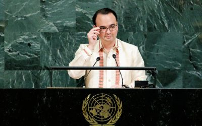 Cayetano asks UN for 'benefit of the doubt' amid PH campaign vs illegal drugs