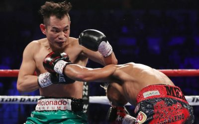 Donaire dominates Garcia Hernandez to win WBC silver belt