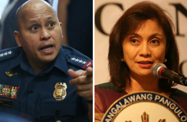 Robredo to Bato: I don't have mascots, standees to justify Palace ambition