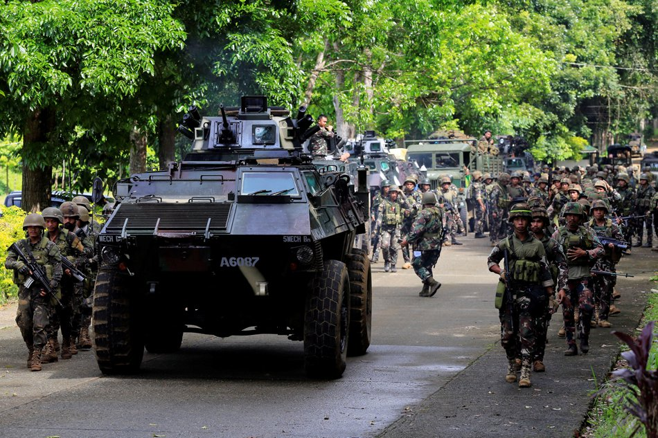 More soldiers from Marawi return to Manila