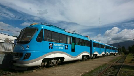 first Philippine-made train