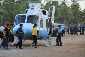 Kris Criticized For Allegedly Using Presidential Choppers At LP Sortie1