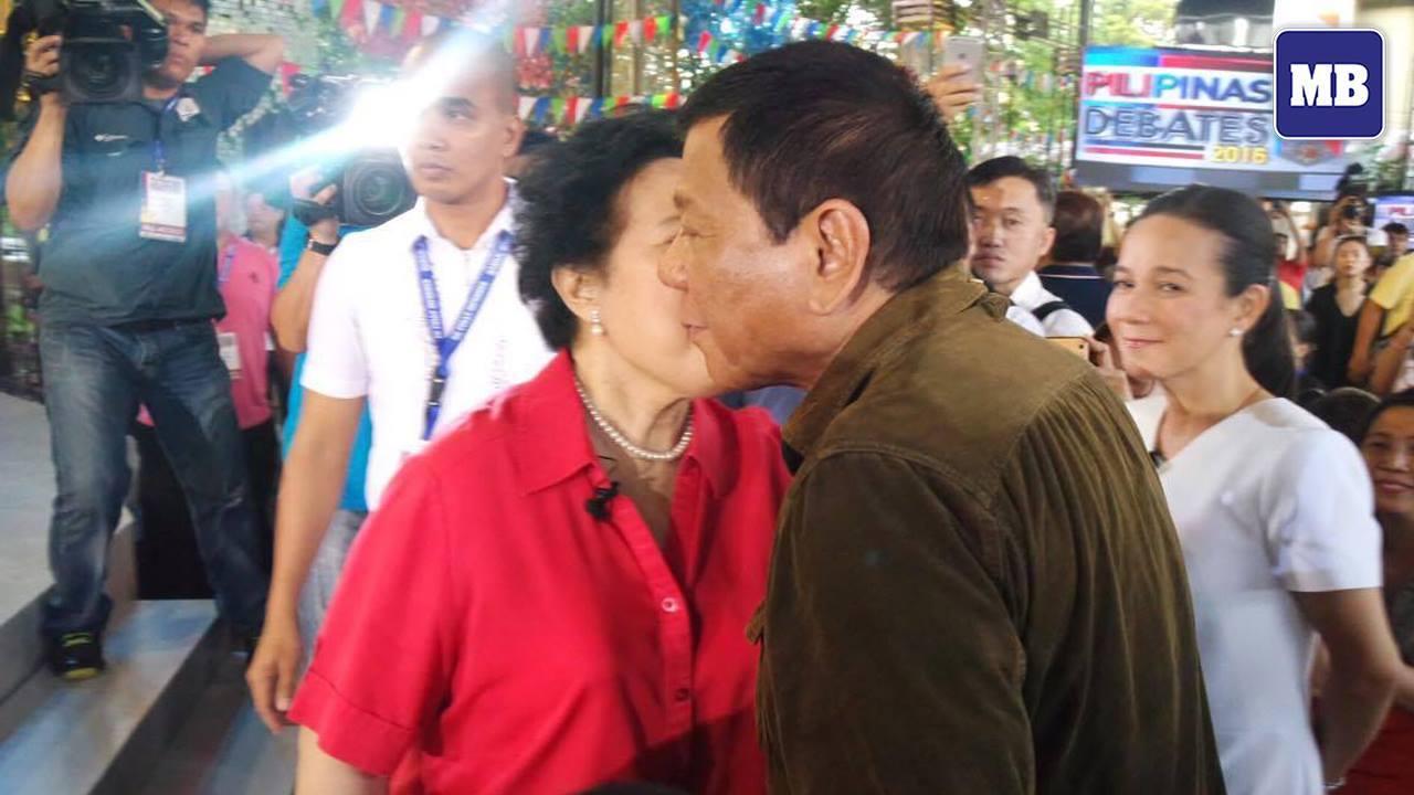 Davao City Mayor Rodrigo Duterte
