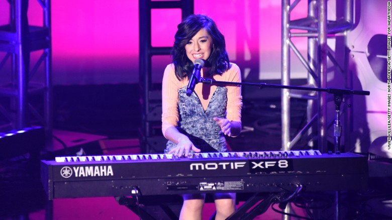 Christina Grimmie shot