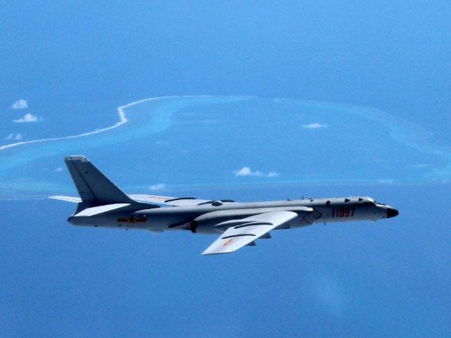 China Flies Nuclear-Capable Bomber Plane Over Scarborough Shoal