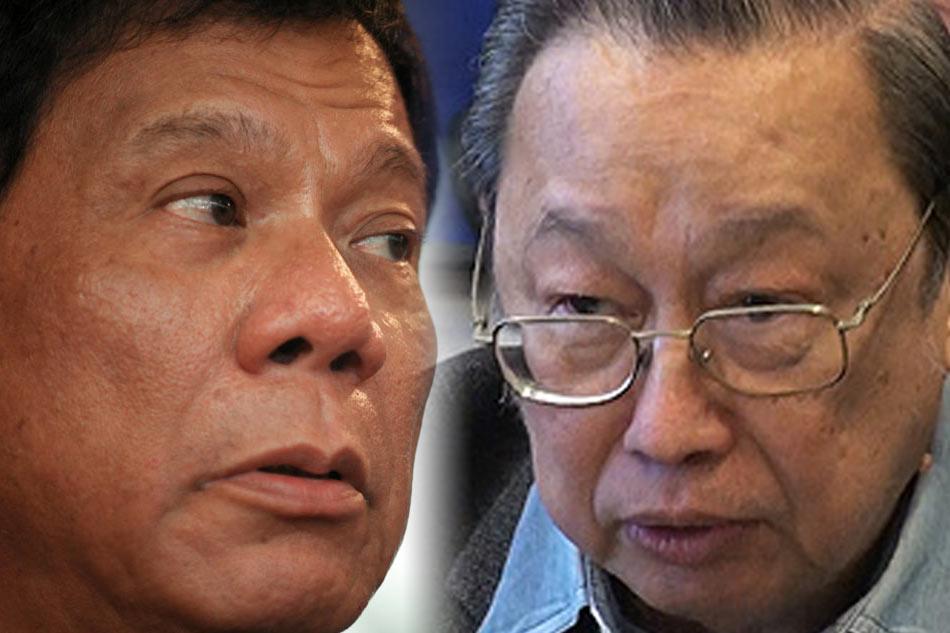 Sison kay Duterte