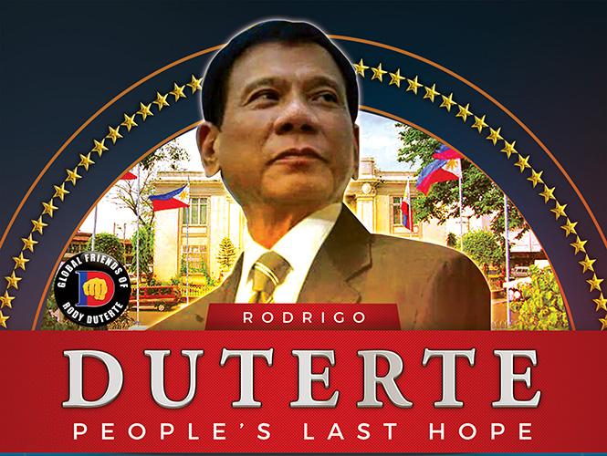 Duterte Ranked 1st