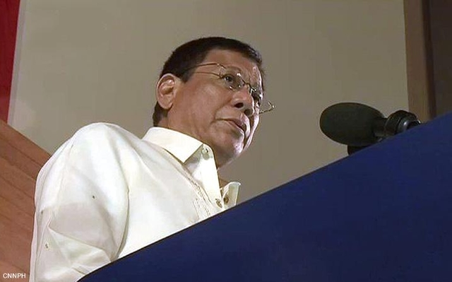 Duterte explains: Why the rich are beyond reach of drug war