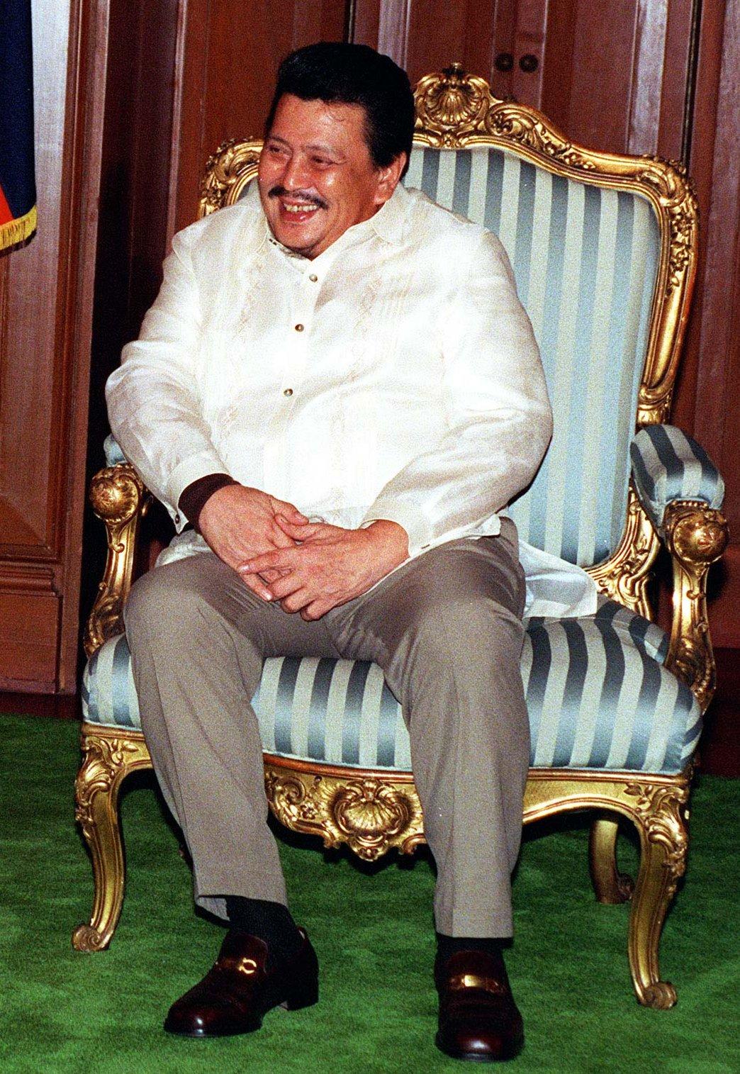"Mayor Joseph ""Erap"" Estrada"