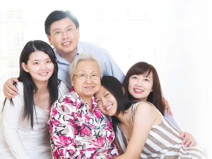 Four ways to make your home senior friendly