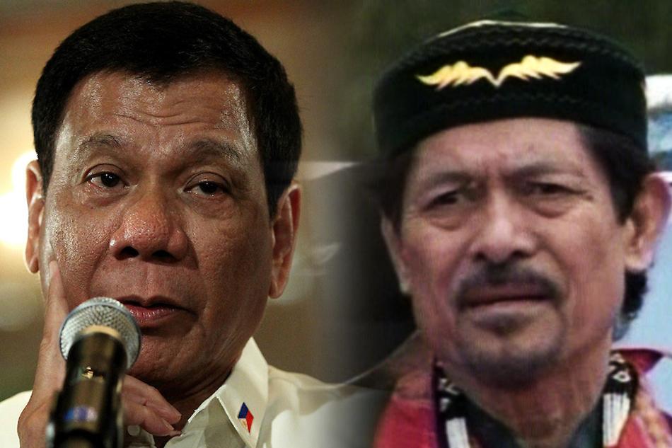 Moro National Liberation Front (MNLF) Founding Chairman Nur Misuari.