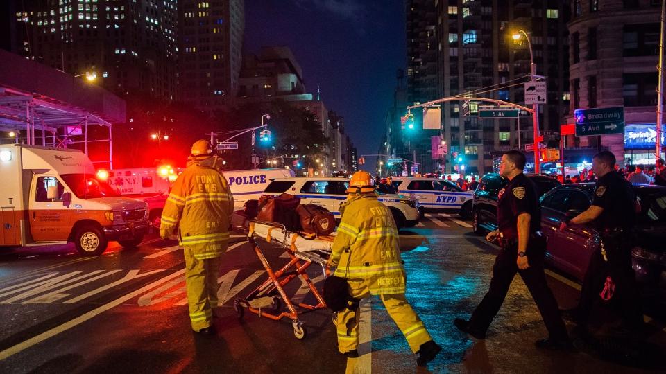 New York City blast