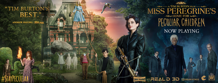 'Miss Peregrine' lifted to top of N. American box office