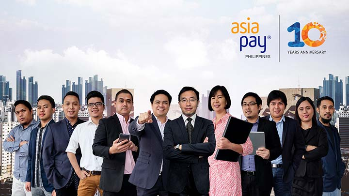 AsiaPay Philippines celebrates 10th year anniversary