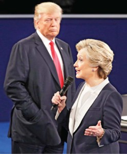 Trump vows to jail Clinton if he wins White House