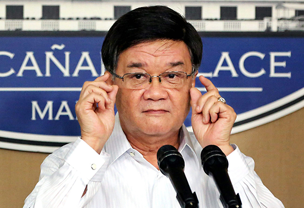 Aguirre claims plot to oust him as DOJ chief