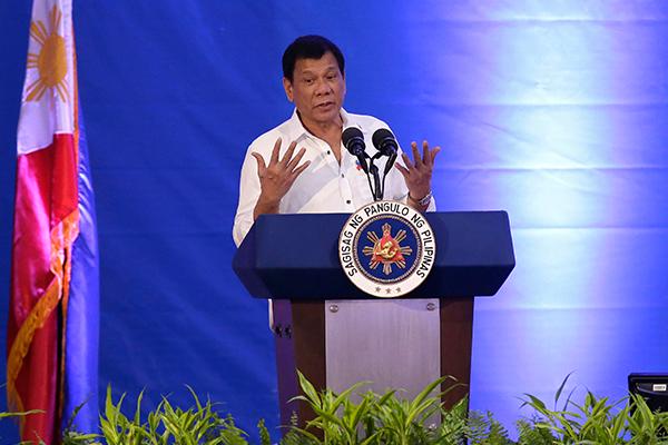 Duterte-NBI-speech-Philippine-flag