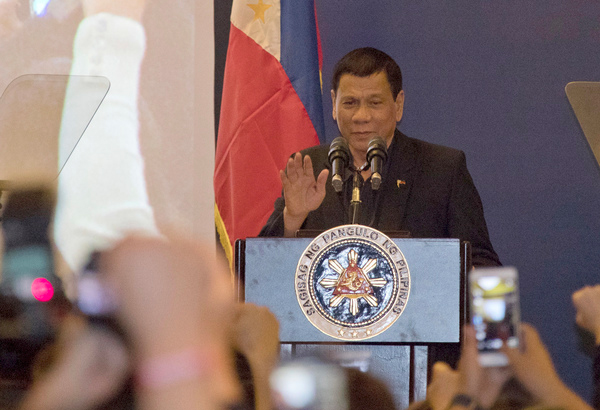Rody tells AFP: Respect human rights, rule of law
