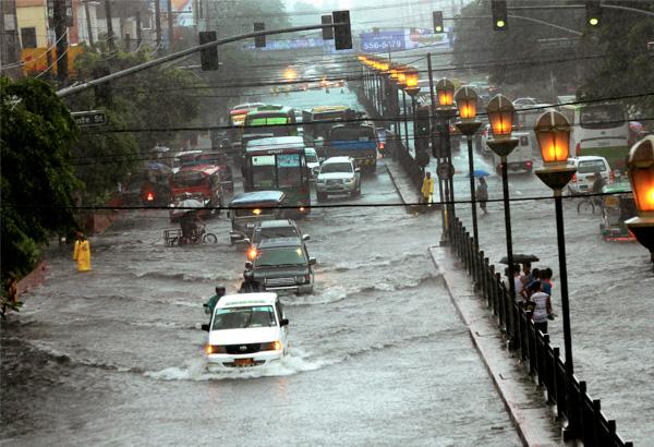 Philippines Report Heavy Downpour Floods Some Metro Manila