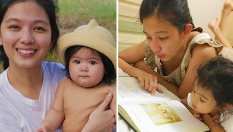 Jennica Garcia is encouraging fellow mothers to raise their children gadget-free after seeing a change in daughter Athena Mori.