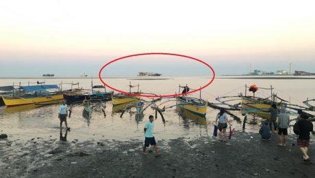 Maliban sa mga diumano'y Chinese dredging vessel na may lulang Tsino sa Lobo, Batangas