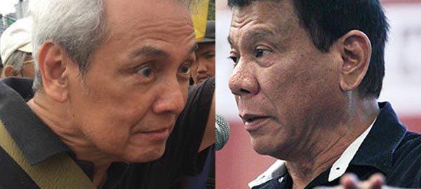 Duterte twits Jim Paredes over video scandal - 'Hala kaliit'