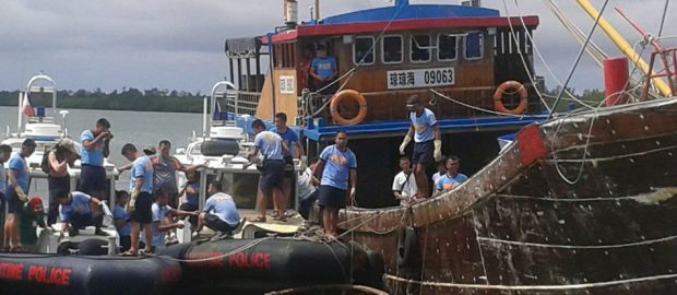 China Fishing Boat Issue
