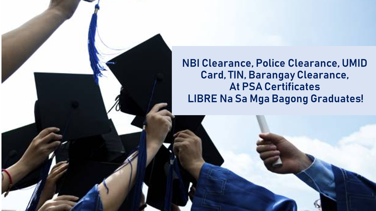 Philippines Report RA 11261: NBI Clearance, TIN, Birth Certificate